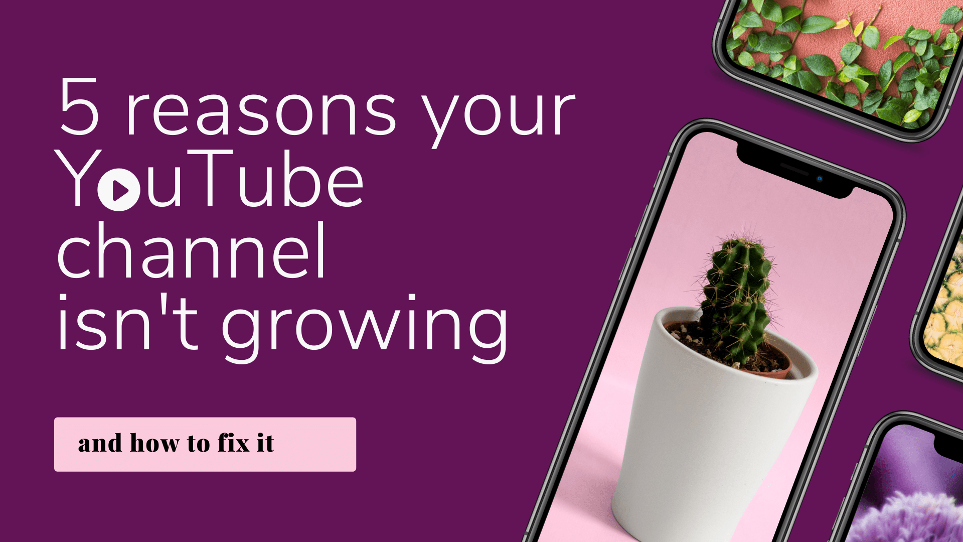 5 Reasons Your YouTube Channel Isn't Growing (1)-min